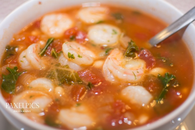 Tuscan Bean Soup with Shrimp – Our Kind of Wonderful – Our ...