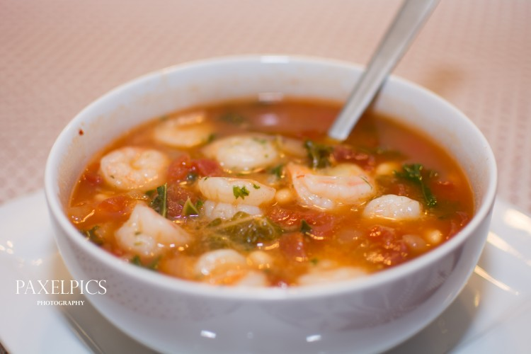 Tuscan Bean Soup with Shrimp – Our Kind of Wonderful – Our Kind of ...
