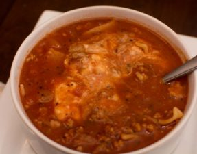 Lasagna Soup - Our Kind of Wonderful