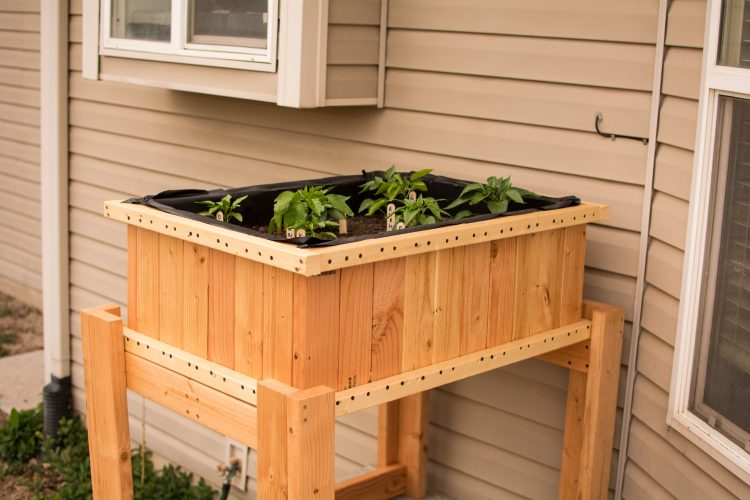 DIY Raised Planters - Our Kind of Wonderful