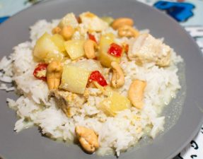 Slow Cooker Cashew Chicken Curry - Our Kind of Wonderful