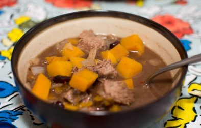 Beef Stew with Squash and Cranberries - Our Kind of Wonderful
