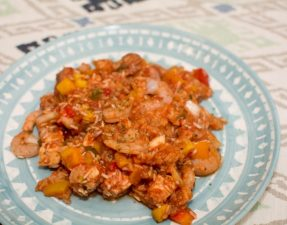 Slow Cooker Jambalaya - Our Kind of Wonderful