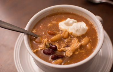 BBQ Chicken Chili - Our Kind of Wonderful