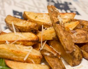 Baked Potato Wedges - Our Kind of Wonderful