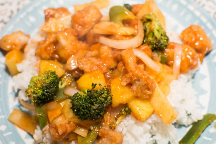 Sweet and Sour Pork - Our Kind of Wonderful