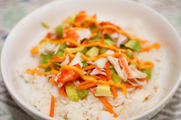 Homemade Sushi Bowl - Our Kind of Wonderful