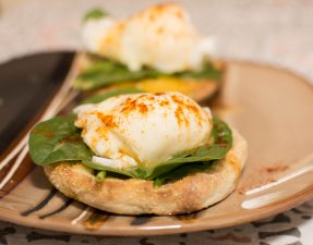 Eggs Florentine - Our Kind of Wonderful