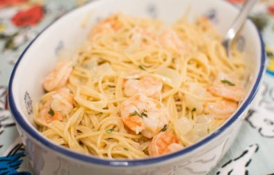 Shrimp Scampi - Our Kind of Wonderful