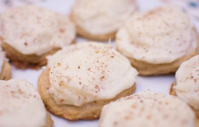 Eggnog Cookies - Our Kind of Wonderful