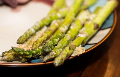 Parmesan and Garlic Roasted Asparagus - Our Kind of Wonderful