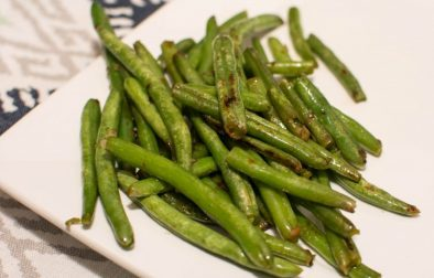 Skillet Green Beans - Our Kind of Wonderful