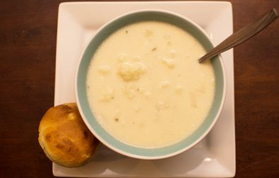 Cauliflower Soup - Our Kind of Wonderful