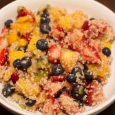 Quinoa Fruit Salad - Our Kind of Wonderful