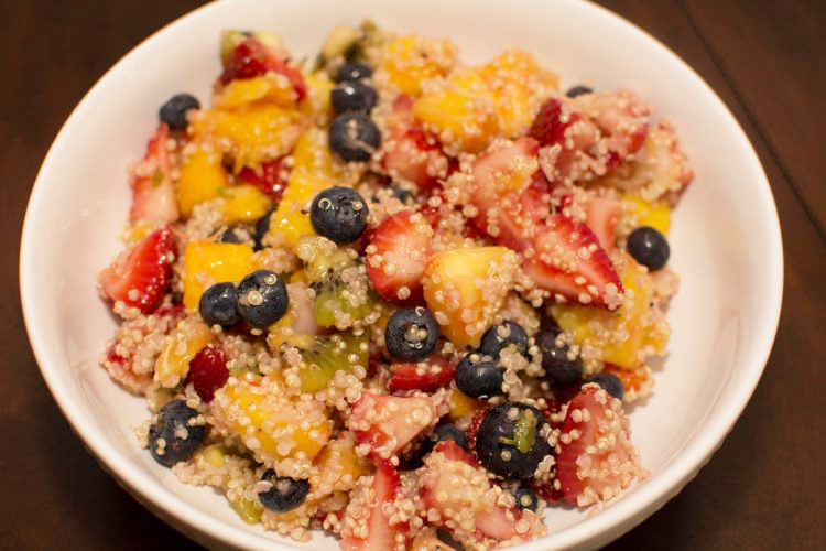 Quinoa Fruit Salad - Our Kind of Wonderful