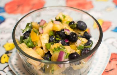 Blueberry Pineapple Salsa - Our Kind of Wonderful