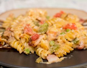 Cajun Tuna Pasta Bake - Our Kind of Wonderful