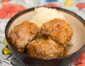 Crock Pot Honey Buffalo Meatballs - Our Kind of Wonderful