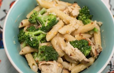 Cajun Chicken Alfredo with Broccoli - Our Kind of Wonderful