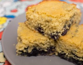Blueberry Cornbread - Our Kind of Wonderul