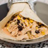 Creamy Chipotle Black Bean Chicken - Our Kind of Wonderful