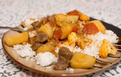 Thai Beef Curry and Cauliflower - Our Kind of Wonderful