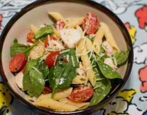Chicken Florentine Pasta - Our Kind of Wonderful