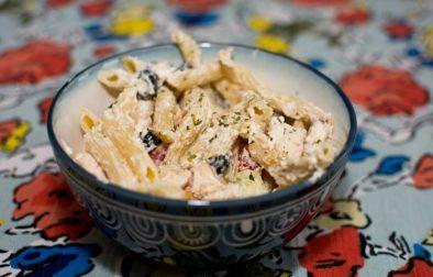 Greek Chicken Pasta - Our Kind of Wonderful