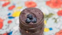 Blueberry Avocado Banana Smoothie