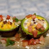 Avocado Egg Cups - Our Kind of Wonderful