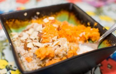 Brown Sugar Sweet Potato Bowl - Our Kind of Wonderful