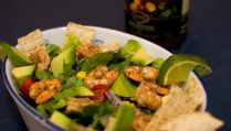 Shrimp Taco Salad - Our Kind of Wonderful