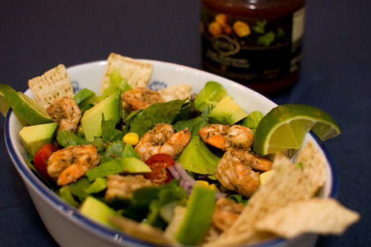 Shrimp Taco Salad - Our Kind of Wonderful
