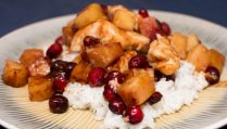 Pineapple Cranberry Barbecue Chicken - Our Kind of Wonderful