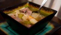 Slow Cooker Corned Beef Cabbage Stew - Our Kind of Wonderful