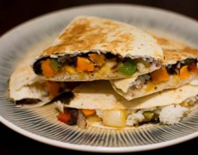 Vegetable Quesadillas - Our Kind of Wonderful