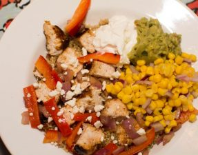 Chicken Quinoa Burrito Bowls - Our Kind of Wonderful
