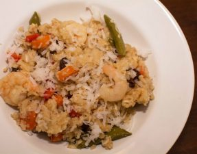 Coconut Thai Shrimp and Rice - Our Kind of Wonderful