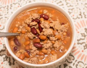 Three Bean Soup - Our Kind of Wonderful