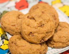 Cinnamon Chip Pumpkin Cookies - Our Kind of Wonderful