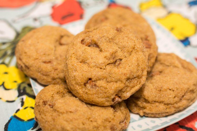 Cinnamon Chip Pumpkin Cookies - Our Kind of Wonderful