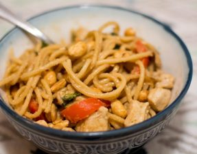Peanut Sesame Noodles - Our Kind of Wonderful