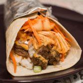 Korean BBQ Burrito - Our Kind of Wonderful