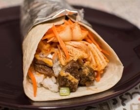 Korean BBQ Burrito - Our Kind of Wonderful
