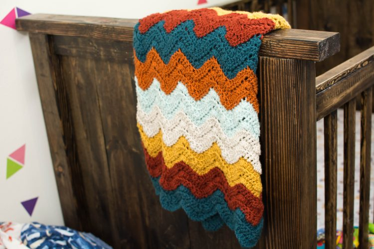 Crochet Baby Afghan - Our Kind of Wonderful