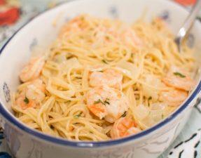 Shrimp Scampi - Our Kind of Wonderful
