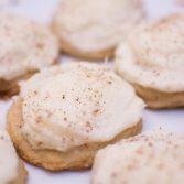 Eggnog Cookies - Our Kind of Wonderful