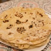 Homemade Flatbread - Our Kind of Wonderful