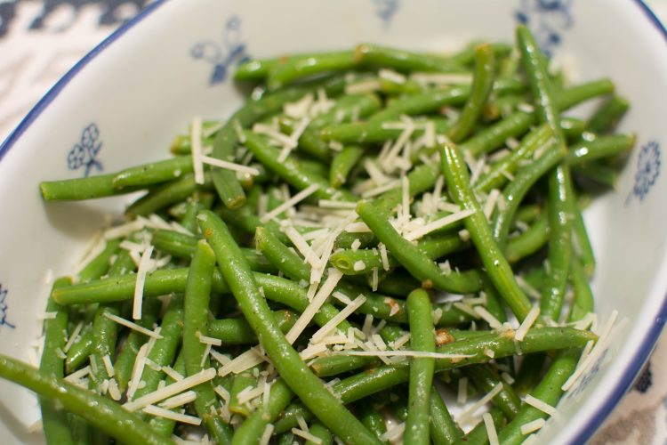 Lemon-Butter Green Beans - Our Kind of Wonderful