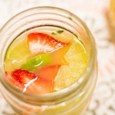 Pineapple Strawberry Cooler - Our Kind of Wonderful